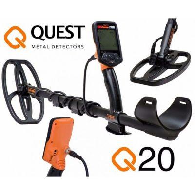 Detector de metales Quest 20