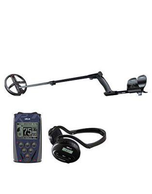 Detector de metales XP DEUS 22 X35 RC WS4 con mando a distancia, auriculares inalámbricos WS4