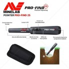 Minelab – Detector de metales Pro Find 25, con pinpointer