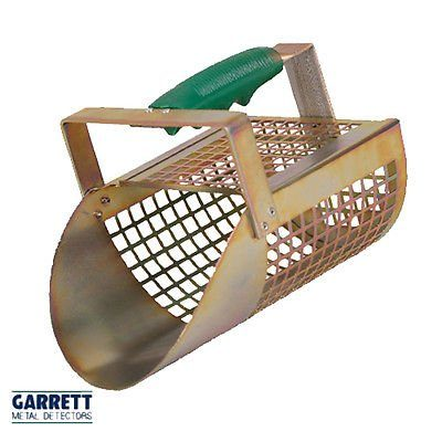 Pala Tamiz Arena Garrett Sand Scoop de metal perforada perforada para Ricerche